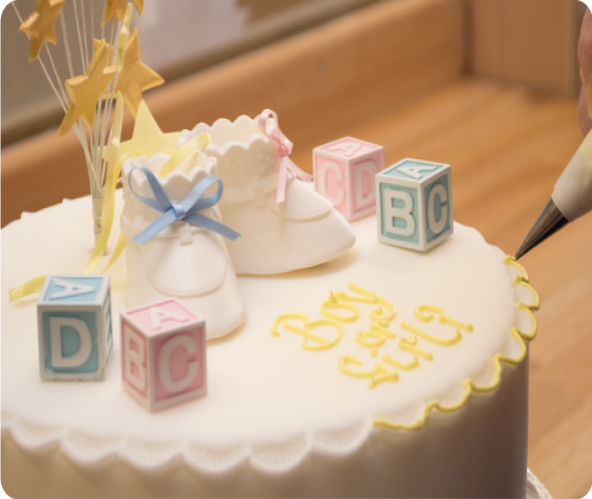 Baby Shower, Christening & Communion Cakes