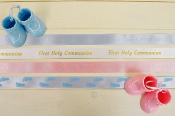 Christening & Communion Ribbons