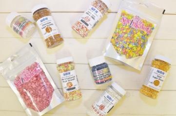 Edible Sprinkles & Dragees
