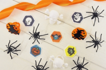 Spooky Cupcake Toppers
