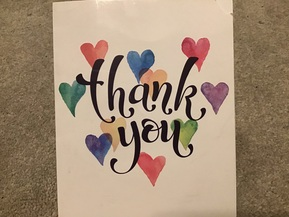 I just wanted to say a big thank you!