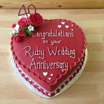 Anniversary Cake Inspiration